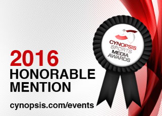 GarageMonkey Receives Honorable Mention at 2016 Cynopsis Sports Media Awards